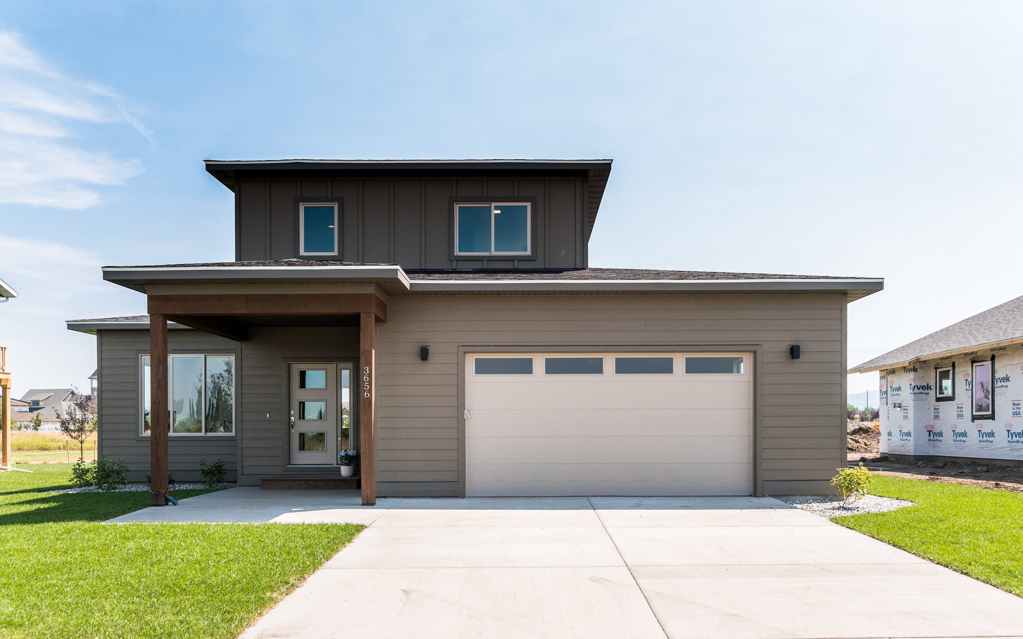 Open house sunday 10 14 the crossing subdivision for Cost to build a house in bozeman mt