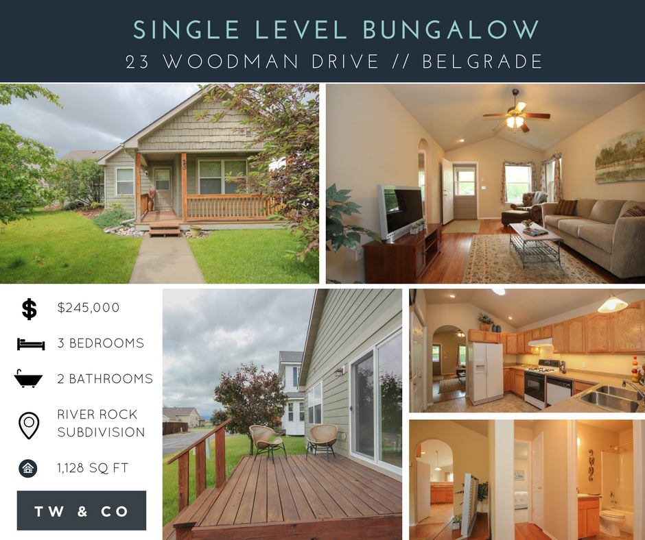 JUST LISTED: Single Level Bungalow