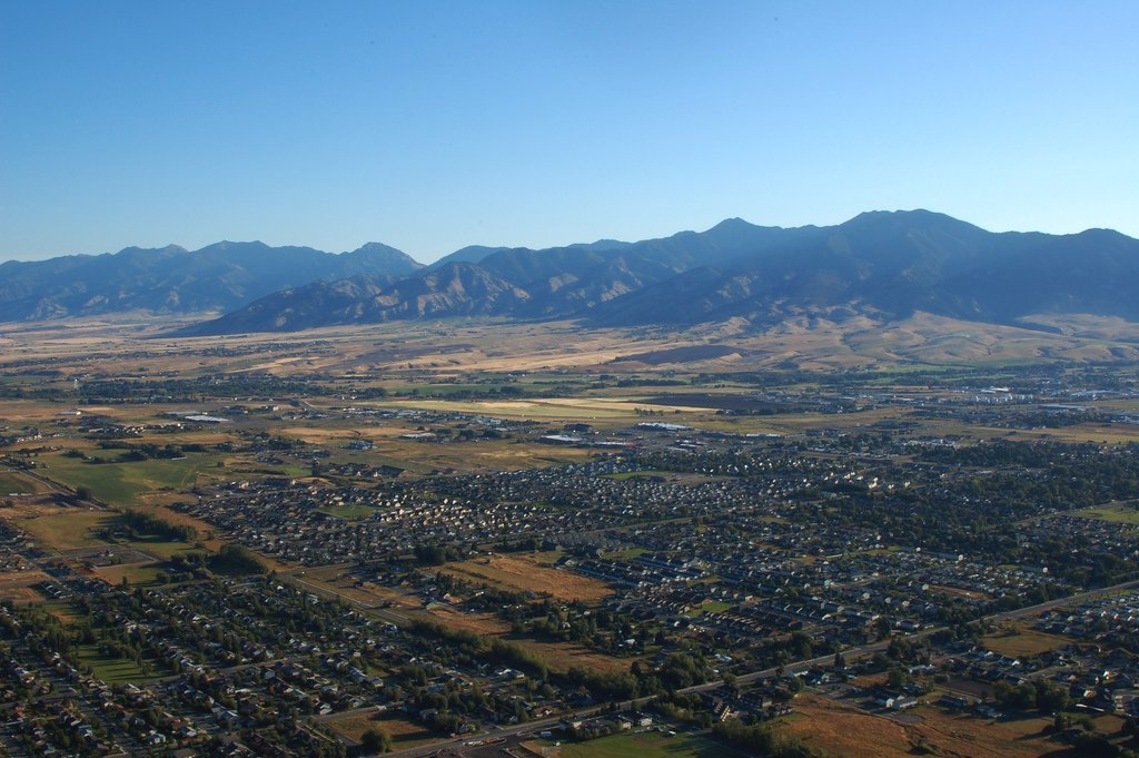 Bozeman Arial Picture