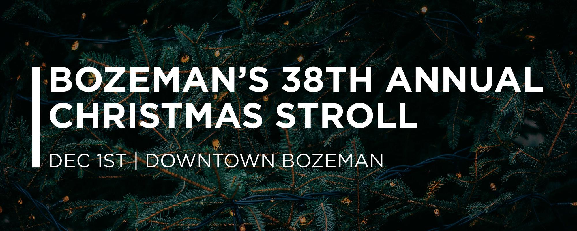 Bozeman's 38th Annual Christmas Stroll