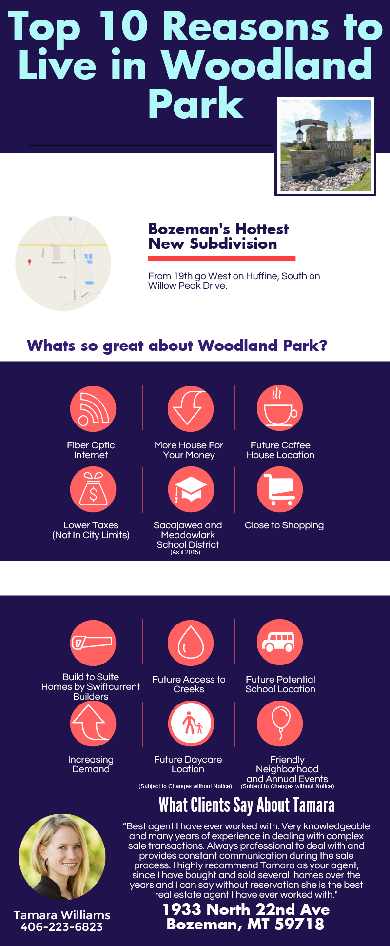 Top 10 Reasons to Live in WoodlandParkBZN Bozeman